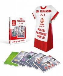 PZPN Gra Piłkarska 2w1 z Koszulka