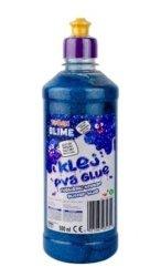 Klej niebieski brokat 500 ml