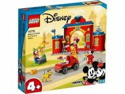 Klocki Mickey and Friends 10776 Remiza i wóz strażacki Myszki Miki i przyjaciół