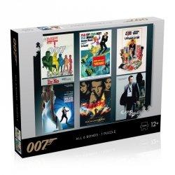 Puzzle James Bond 007 Actor Debut 1000 elementów
