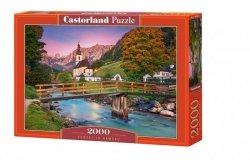 Puzzle 2000 elementów Sunset in Ramsau