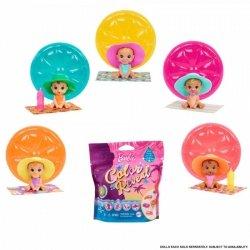Lalka Barbie Color Reveal Bobas Seria Wakacyjna