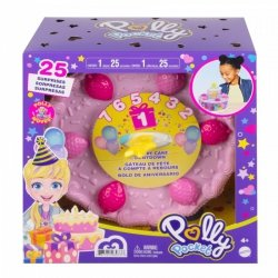 Figurki Polly Pocket Zestaw do zabawy Tort urodzinowy