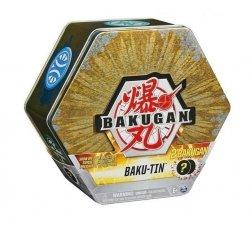 Pojemnik z figurkami Bakugan Geogan Baku-Tin złoty Seria 3 GML