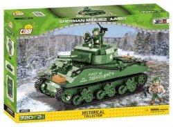 Klocki Sherman M4A3E2 Jumbo