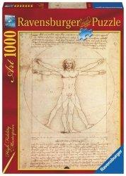 Puzzle 1000 elementów Art Collection Człowiek witruwiański
