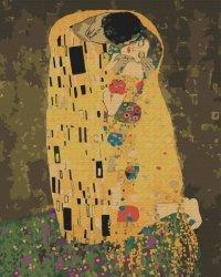 Obraz Paint it! Malowanie po numerach. Pocałunek Klimt