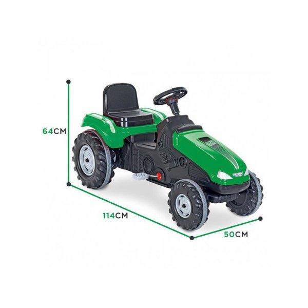 WOOPIE Traktor Na Pedały Farmer MegaTrac XL Zielony