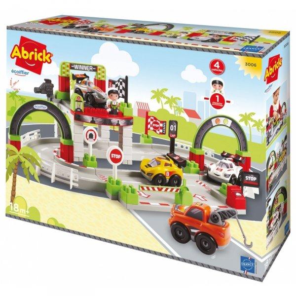 Ecoiffier Abrick Tor Wyścigowy Grand Prix