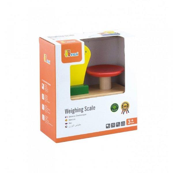 Drewniana Waga sklepowa ze skalą Viga Toys