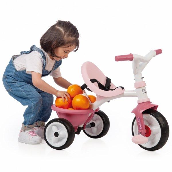 SMOBY Rowerek Trójkołowy Be Move Różowy