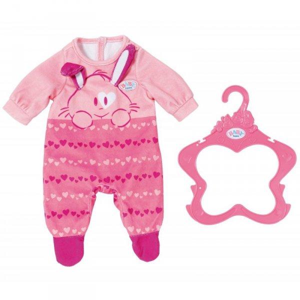 Śpioszki dla lalki Baby Born 43 cm w kolorze różowym