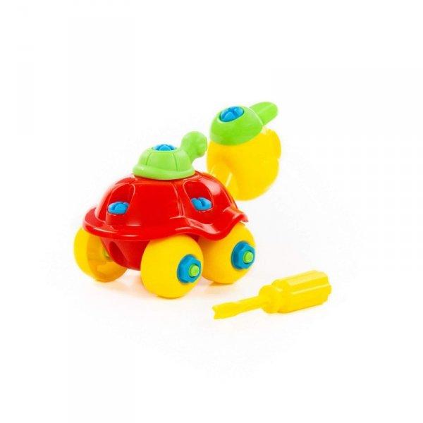 Wader QT Kolorowy Żółwik Ze Śrubokrętem 24 el.