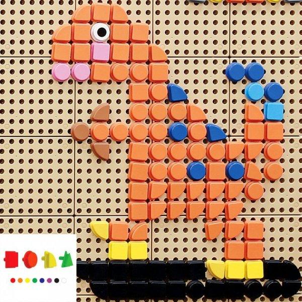 MASTERKIDZ Geometryczne Elementy 8 Kolorów