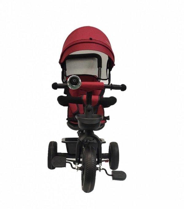 Rowerek trójkołowy BT-13 Czarna rama-czerwony