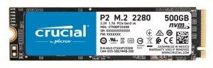 Dysk SSD Crucial P2 500GB M.2