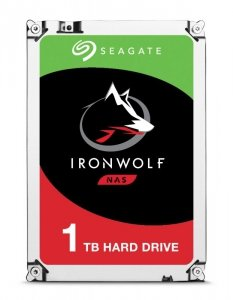 Dysk HDD Seagate IronWolf ST1000VN002 (1 TB ; 3.5; 64 MB; 5900 obr/min)