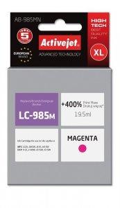 Tusz Activejet AB-985MN (zamiennik Brother LC985M; Supreme; 19,5 ml; czerwony)