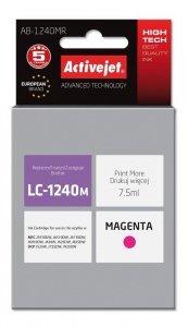 Tusz Activejet AB-1240MR (zamiennik Brother LC1240M/1220M; Premium; 7.5 ml; czerwony)