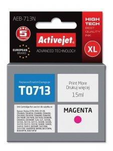 Tusz Activejet AEB-713N (zamiennik Epson T0713, T0893, T1003; Supreme; 15 ml; czerwony)