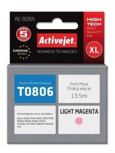 Tusz Activejet AE-806N (zamiennik Epson T0806; Supreme; 13.5 ml; jasny czerwony)