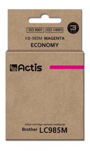 Tusz ACTIS KB-985M (zamiennik Brother LC985M; Standard; 19,5 ml; czerwony)