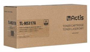 Toner ACTIS TL-MS317A (zamiennik Lexmark 51B2000; Standard; 2500 stron; czarny)