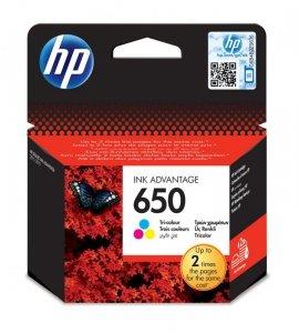Tusz HP kolor HP 650, HP650=CZ102AE, 200 str.