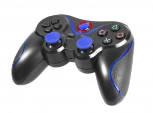 Tracer Blue Fox Czarny, Niebieski Bluetooth Gamepad Playstation 3