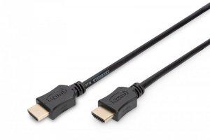 Kabel Assmann AK-330107-020-S (HDMI M - HDMI M; 2m; kolor czarny)