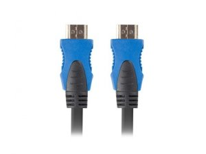 Kabel Lanberg CA-HDMI-20CU-0018-BK (HDMI M - HDMI M; 1,8m; kolor czarny)