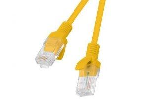Patchcord U/UTP Lanberg PCU5-10CC-0150-O (RJ45 - RJ45 ; 1,5m; UTP; kat. 5e; kolor pomarańczowy)