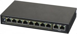 Switch PoE PULSAR S108 (10x 10/100Mbps)