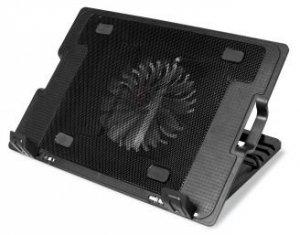 Podkładka chłodząca Media tech Heat Buster MT2658 (15.x cala; 1 wentylator; HUB)
