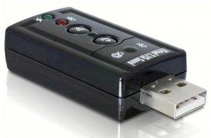 DeLOCK 61645 cable gender changer USB 2.0 2x 3,5 Czarny