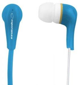 Słuchawki Esperanza Lollopop EH146B (kolor niebieski)