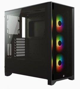 OBUDOWA CORSAIR iCUE 4000X RGB TG Mid Tower BLACK