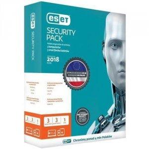 ESET Security Pack (1 mobilne, 1 robocze; 12 miesięcy; BOX; Komercyjna)