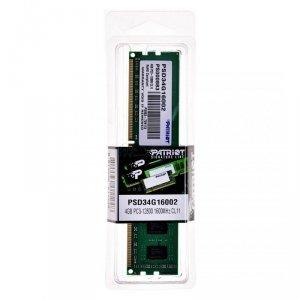 Pamięć Patriot Memory PSD34G16002 (DDR3 ECC; 1 x 4 GB; 1600 MHz; CL11)