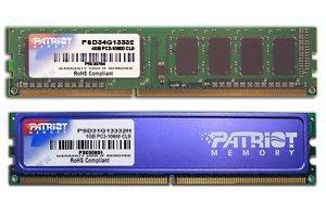 PATRIOT DDR3 4GB SIGNATURE 1333MHz CL9