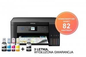 Epson EcoTank L4160 Atramentowy 5760 x 1440 DPI 33 strony na minutę A4 Wi-Fi