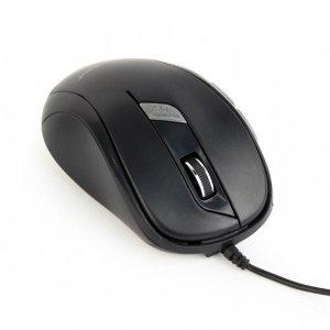 Mysz GEMBIRD MUS-6B-01 (optyczna; 1600 DPI; kolor czarny)