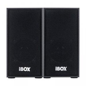 Zestaw głośników IBOX IGLSP1B (2.0; ciemne drewno)