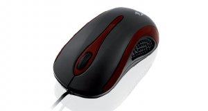 Mysz IBOX i2712 OPTYCZNA PRZEWODOWA, USB BLACK IMOF2712U (optyczna; 1000 DPI; kolor czarny)