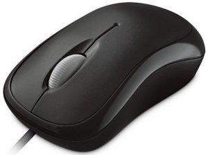Mysz Microsoft  P58-00057 (optyczna; 1000 DPI; kolor czarny)