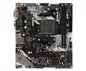 Płyta główna Asrock 90-MXB9L0-A0UAYZ (AM4; 2x DDR4 DIMM; Micro ATX)