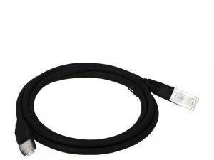 Patchcord UTP A-LAN KKU5CZA2 (RJ45 - RJ45 ; 2m; UTP; kat. 5e; kolor czarny)