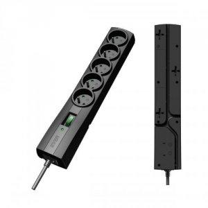 Ever CLASSIC 5 Gniazdo(a) sieciowe 250 V Czarny 1,5 m