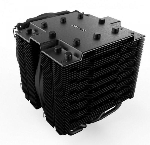be quiet! Dark Rock Pro 4 Procesor Chlodnica/wentylator 120/135 mm Czarny