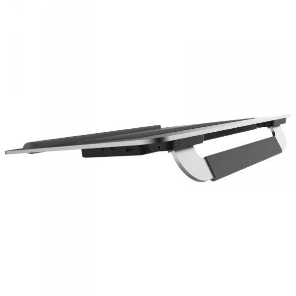 "Cooler Master NotePal U150R podkładka chłodząca do notebooków 38,1 cm (15"") 1600 RPM Srebrny"